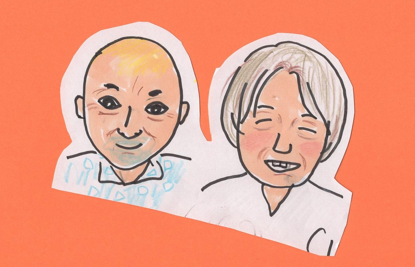中川角司さんと下野誠一郎さんに会ってきた
