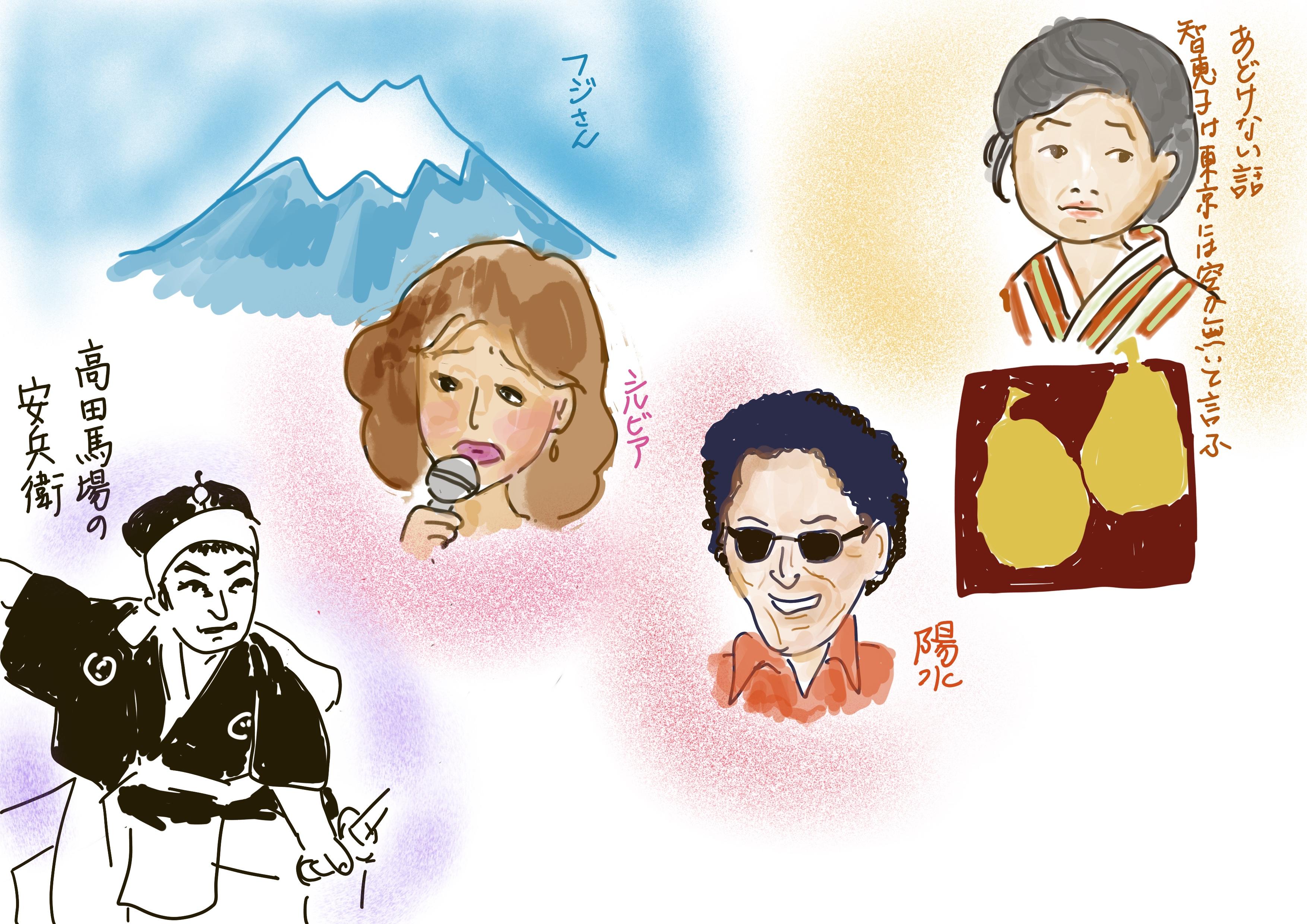 みさ日記2019/02/03「東京は楽しいな」「フジさん」「智恵子の嘘」